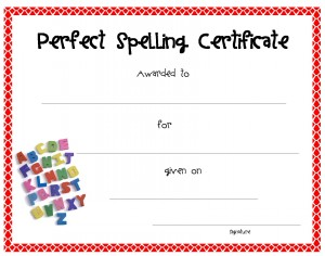 Free Kids Printable Awards Certificate Templates for School